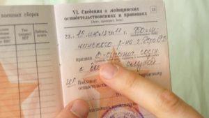 Как расшифровываются разные статьи в военном билете